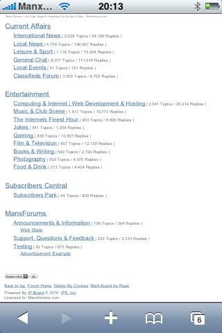 Manxforums com Update - Page 2 - Announcements & Information