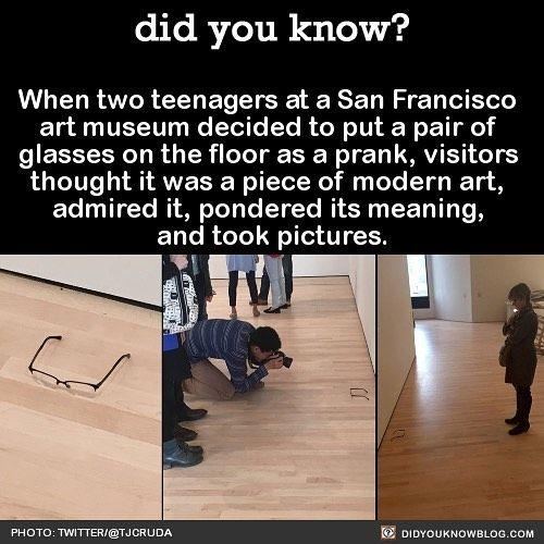 Funny Modern Art Museum